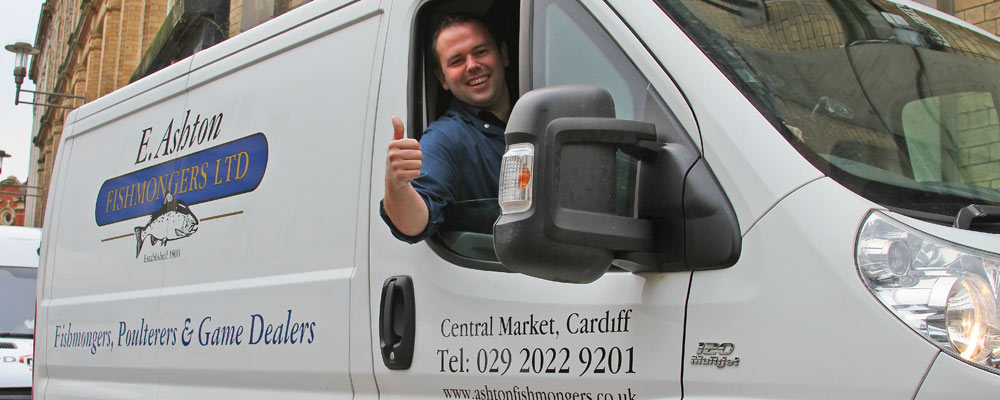 Kevin Todd - delivering your fresh fish!