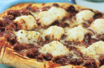 Mexican Coley Pizza