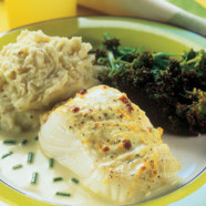 Cheesy Citrus Cod