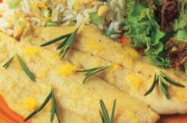 Herring with Orange and Rosemary